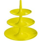 《KOZIOL》Babell 3層式點心盤(綠L)