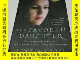 二手書博民逛書店THE罕見FAVORED DAUGHTER(英文, 不好Y212
