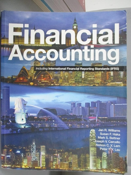 【書寶二手書T6/大學商學_EQX】Financial Accounting Including Ifrs_Williams