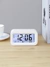 聰明鐘學生時鐘3組鬧鐘創意夜光時尚靜音床頭鐘表兒童電子鐘 果果輕時尚