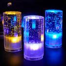 小夜燈 水晶台燈led充電吧台燈創意夜店咖啡廳裝飾燈酒吧桌燈定制logo
