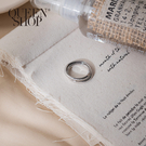 Queen Shop【07060129】雙環造型戒指*現+預*