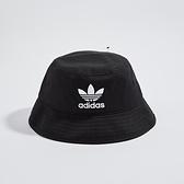 Adidas BUCKET HAT AC 黑 刺繡logo 休閒 漁夫帽 AJ8995