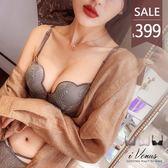 內衣- 天使情戀(僅上身)-iVenus 誘惑蕾絲性感爆乳W杯半罩集中無鋼圈厚墊 玩美維納斯 32-38A.B罩杯