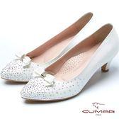 ★2017春夏★【CUMAR】時尚派對 多穿式水鑽裝飾晚宴鞋(白色)