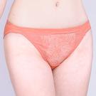 思薇爾-夏之戀人系列M-XL蕾絲低腰三角內褲(蜜誘橘)