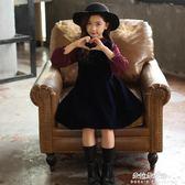 女童洋裝 童裝女童秋裝新款洋裝兒童洋氣公主裙韓版潮衣兒童裙子春秋  朵拉朵衣櫥