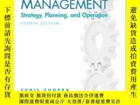 二手書博民逛書店Supply罕見Chain Management (4th Ed