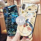 IDEA  iPhone XS 哆啦A夢藍光手機殼 亮面 保護殼 軟殼 全包 大雄 胖虎 小叮噹 日本 卡通 xs