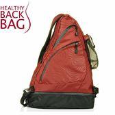 【Healthy Back Bag 戶外PRO運動寶貝包 橘紅 】 HB8514CY/斜背包/側背包/寶貝包/收納背包★滿額送