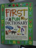 【書寶二手書T7/少年童書_YKA】First Fun Dictionary_Leaney, Cindy