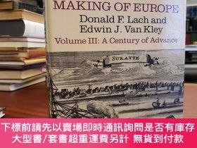 二手書博民逛書店Asia罕見in the Making of Europe, Volume III: A Century of A