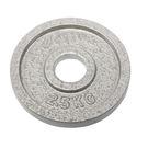 奧林匹克鑄鐵槓片2.5KG(二入)/重量片/烤漆槓片/重量訓練/