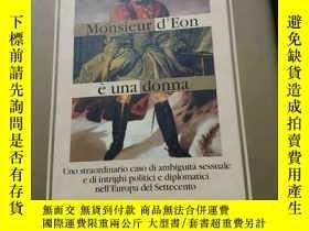 二手書博民逛書店Monsieur罕見d Eon è una donna,Uno
