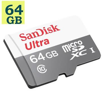 SanDisk 64GB 64G microSDXC【80MB/s】Ultra microSD micro SD SDXC UHS UHS-I Class 10 C10 SDSQUNS-064G 手機記憶卡