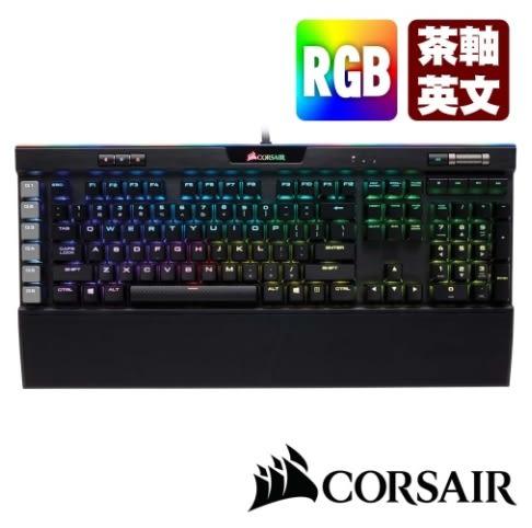 【超人百貨L】3I835 CORSAIR 海盜船 Corsair K95 PLATINUM RGB 茶軸 耐用 2年保固