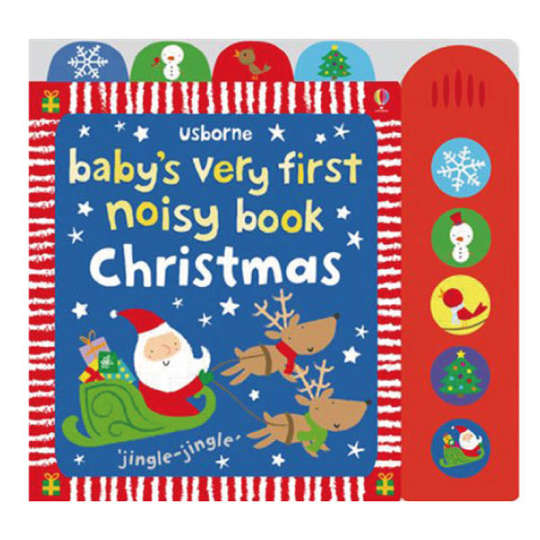 Baby's Very First Noisy Book:Christmas 小寶貝的第一本聖誕節有聲書