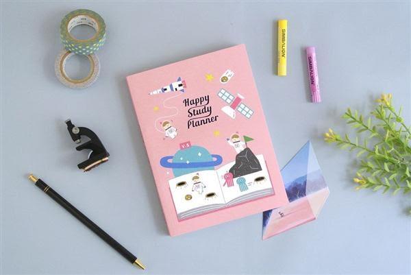 Happy Study Planner快樂學習日誌V.5  [天文]【Dimanche 迪夢奇】