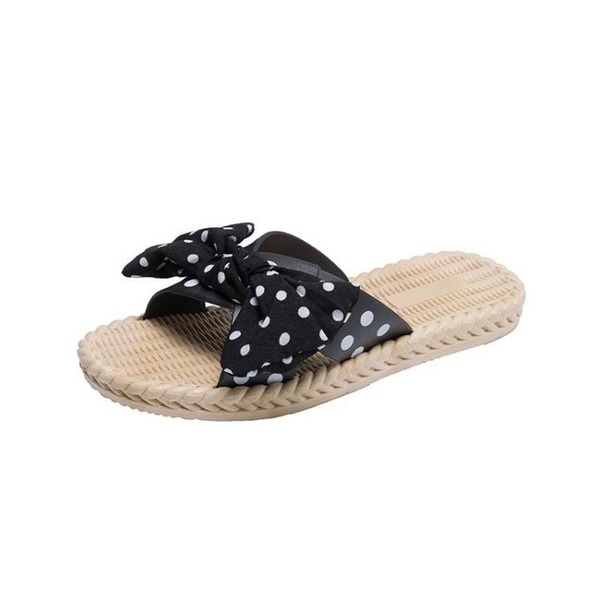 平底涼拖鞋女夏新款媽媽中跟外穿女士防滑厚底結凉鞋