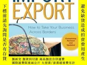 二手書博民逛書店Import export:罕見How To Take Your