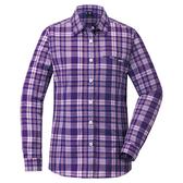 [好也戶外]mont-bell Wickron 女款長袖單口袋襯衫/葡紫 No.1114281/GP
