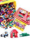 拼圖 兒童積木小顆粒拼裝玩具益智拼插3-6周歲7男孩子8女孩拼圖10YYP 俏女孩