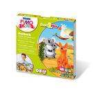 FIMO無毒烤箱軟陶 MS8034-23LZ KIDS系列套組【樂遊習作】-澳洲動物 LV.3級