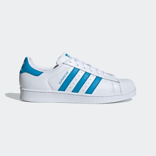 ADIDAS SUPERSTAR [G54739] 女鞋 運動 休閒 經典 街頭 百搭 必備 愛迪達 白藍