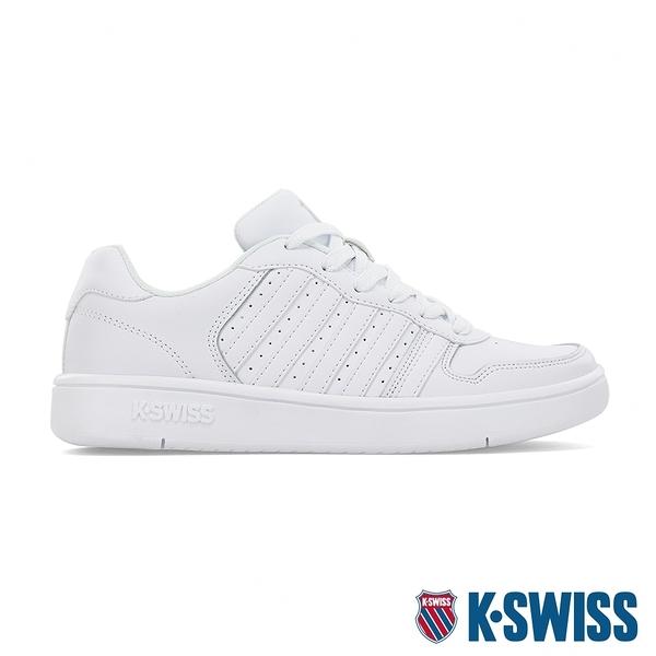 【超取】K-SWISS Court Palisades時尚運動鞋-女-白