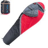 PUSH! 登山戶外用品 300克防風防潑水四季空調被可拼接木乃伊睡袋P76
