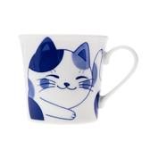 日本花貓咪馬克杯 300ml