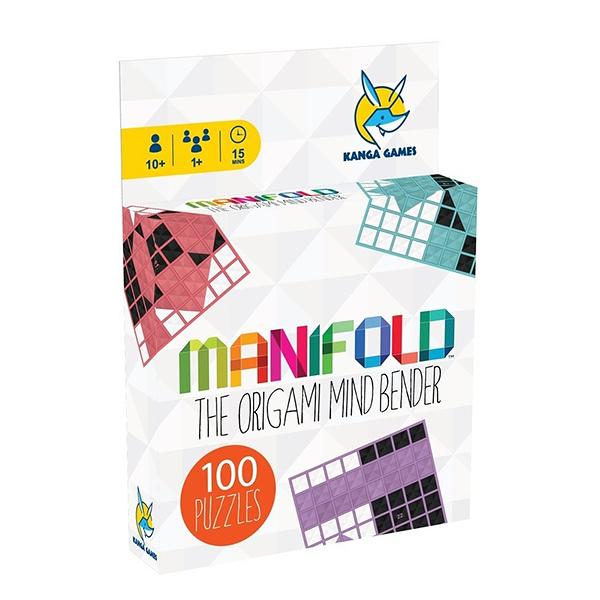 【樂桌遊】益智桌遊 - 黑白摺學 Manifold (1人) KG-1360