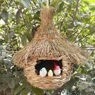 鳥窩超大號手工草編鳥巢 草編鳥窩鳥籠小鳥用品花園別墅天花工程裝飾 智慧 618狂歡