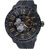 Tendence 天勢表 Panda 限量版熊貓手錶-黑/52mm TY430402