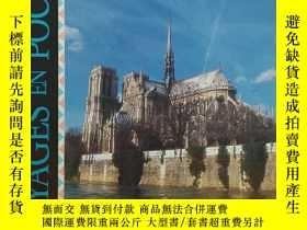 二手書博民逛書店法文原版書罕見Paris 法國巴黎風景名勝介紹指南 (Voyages en poche) [Broché] by