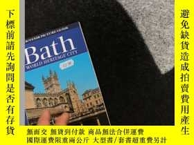 二手書博民逛書店Bath罕見WORLD HERITAGE CITYY236528