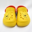DISNEY 迪士尼正版 小熊維尼 中童 防水拖涼鞋 兩穿式 520180YEL 黃【iSport愛運動】