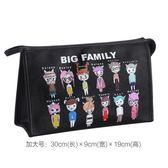 化妝包大容量多功能簡約便攜小號韓國手拿化妝袋化妝品收納包可愛   mandyc衣間