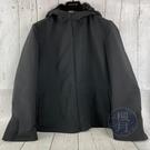 BRAND楓月 PRADA 經典 黑色 尼龍 厚實長袖外套 毛毛皮草內裡 服飾 全黑 口袋