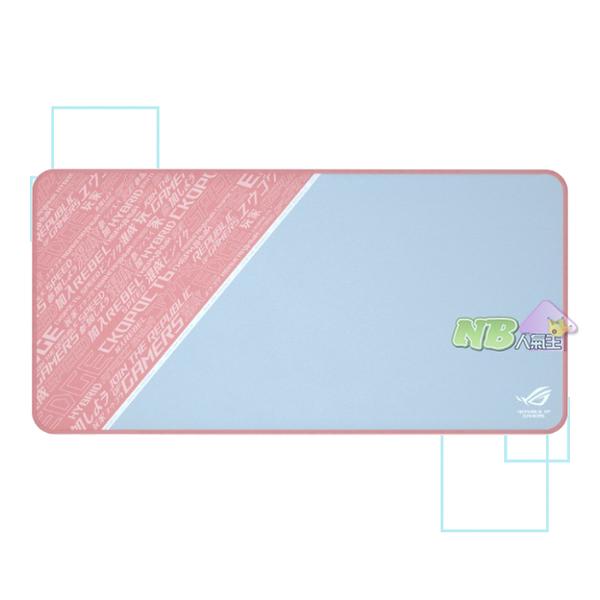 華碩 ROG Sheath PNK 專業 電競鼠墊 粉色款