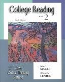 二手書博民逛書店《College Reading with the Active Critical Thinking Method》 R2Y ISBN:0155066811