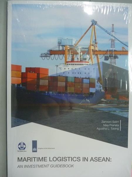 【書寶二手書T8/財經企管_QXB】Maritime Logistics in Asean:an investment