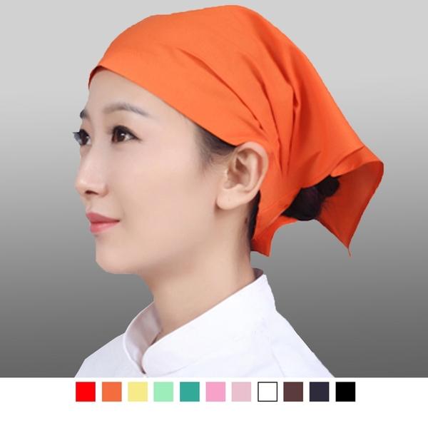 晶輝專業團體制服CH119*廚房可調節飯店餐廳工作日式女服務員親子兒童頭巾廚師帽子三角巾