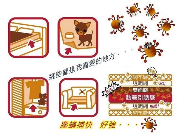 塵蟎捕快-台灣製造 TanTo- 抓螨剋星 2片入/組-台灣之光