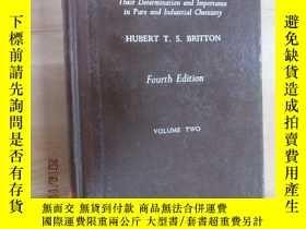 二手書博民逛書店英文書罕見HYDROGEN IONS 氫離子 硬精裝Y15969 出版1956