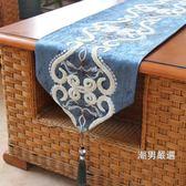 桌巾新品桌旗歐式現代簡約茶幾餐桌裝飾布品質奢華北歐桌布床旗床尾巾