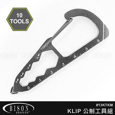 BISON Kool Tool Klip 公制工具組 #13KTKM【AH24043】JC雜貨