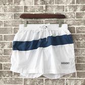男士沙灘褲 多功能休閒運動游泳海邊寬鬆簡約三分褲 速干短褲 ciyo黛雅