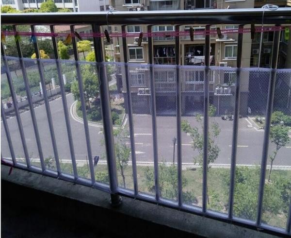 兒童護欄網高空墜物樓梯防護網