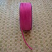 彩色素面鬆緊帶(桃紅色)/彈力繩/口罩繩/綁髮帶